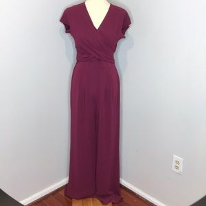 NWT Gal Meets Glam Delaney Wrap Jumpsuit. 4